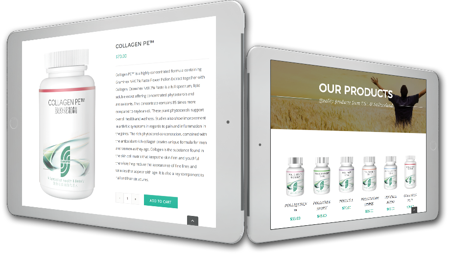 sanomin 2 tablet web design
