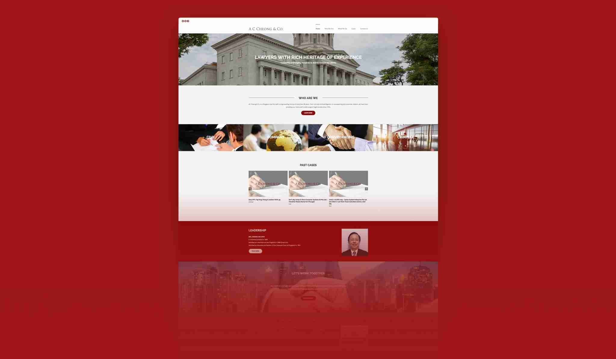 ac cheong full web design
