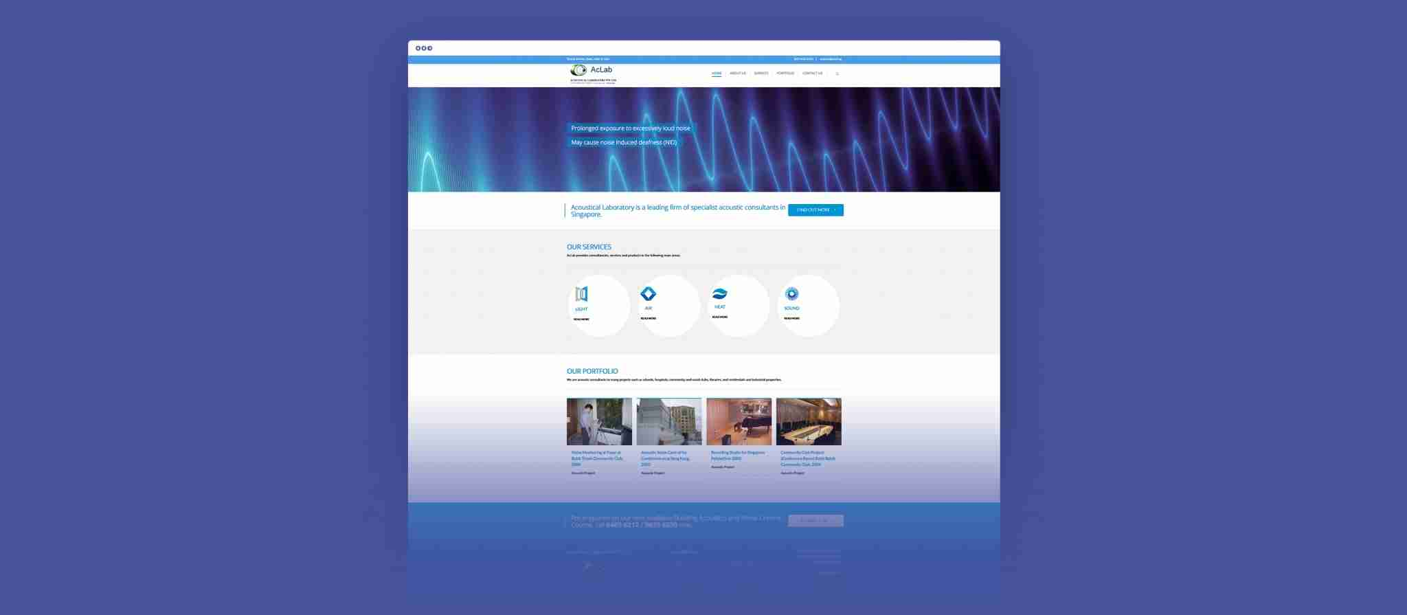 ac lab full web design