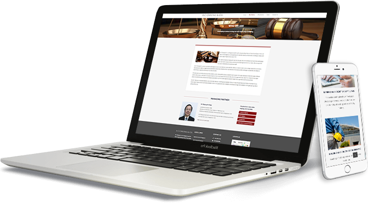 ac cheong laptop and mobile web design