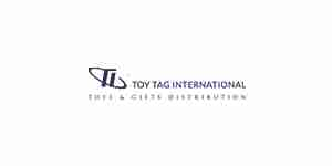 toy tag int color logo for web design