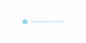 global asia pacific color logo for web design