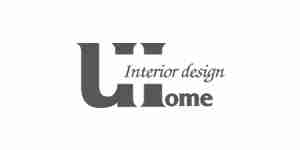 uhome color logo for web design
