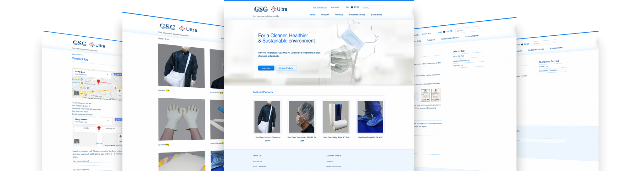 gsg 5 display web design