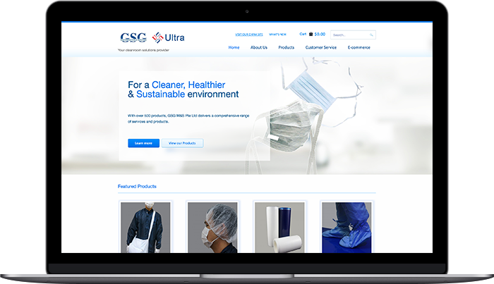 gsg laptop web design