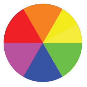Secondary Colour Wheel in web design