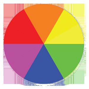 Secondary Colour Wheel in web design
