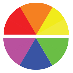 Warm vs Cool colour Wheel in web design