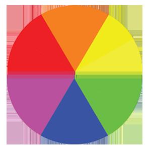 Warm vs Cool colour Wheel in web design