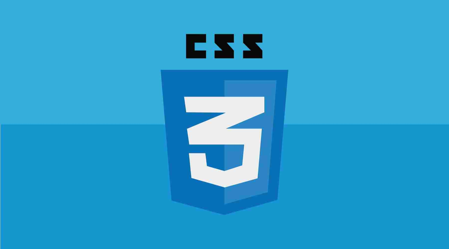 CSS logo banner in web development