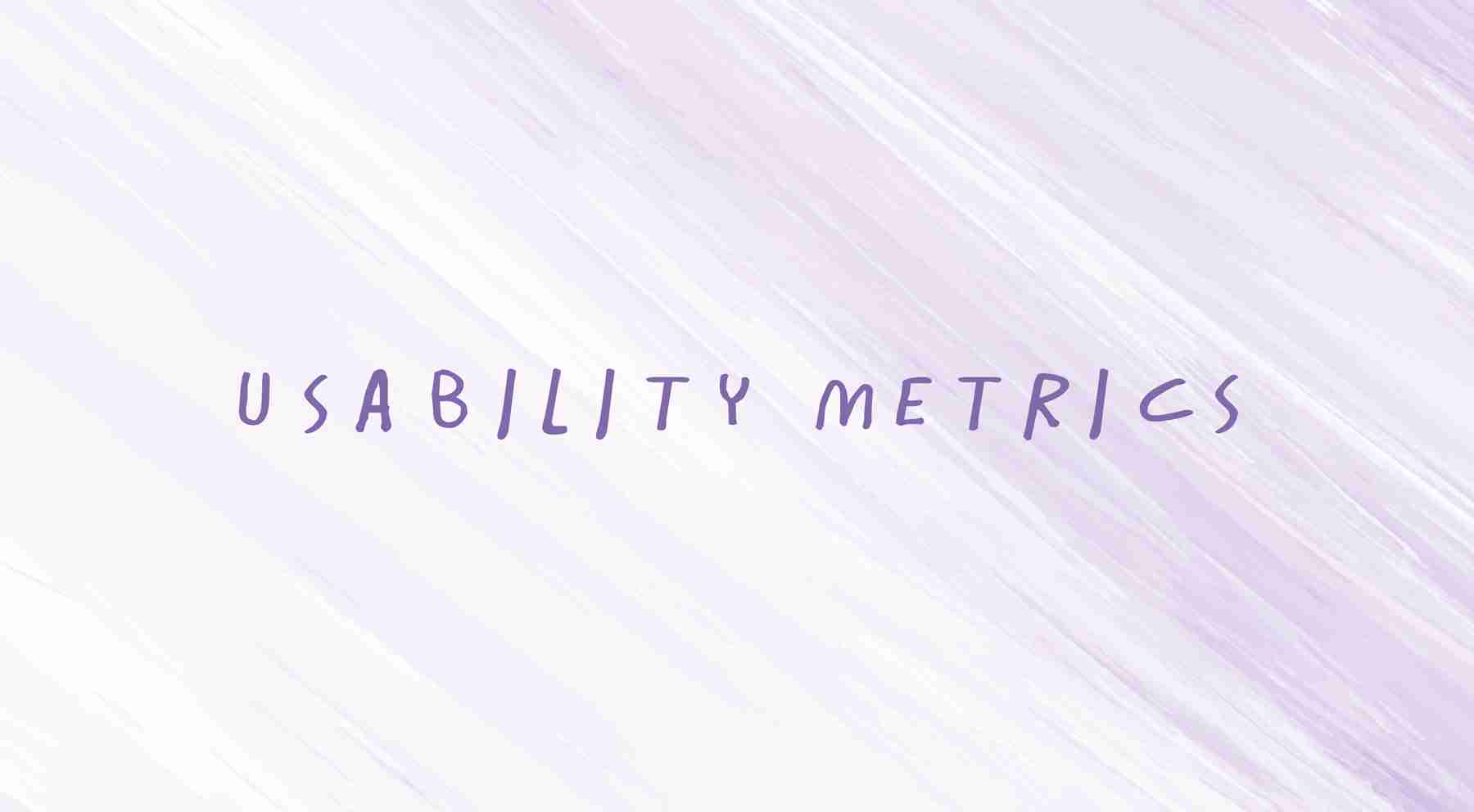 usability-metrics in web design