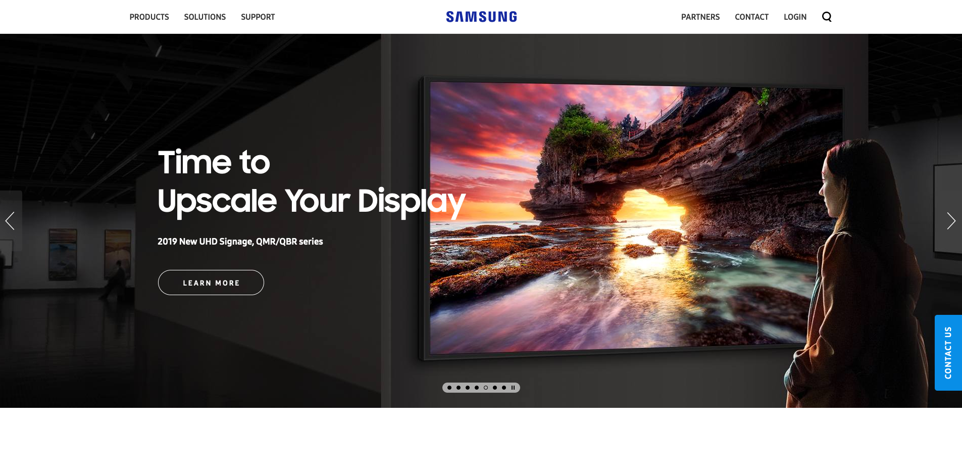 Samsung Display Homepage